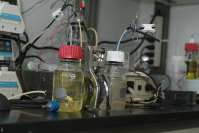 Microbial fuel cell – for conversion of chemical energy to electrical energy