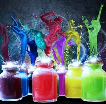Colors family – Inks, Dyes and Pigments