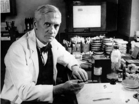 Alexander Fleming – discoverer of Penicillin antibiotics