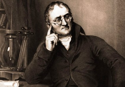 John Dalton – developed modern atomic theory