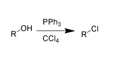 Mechanism of Appel Reaction