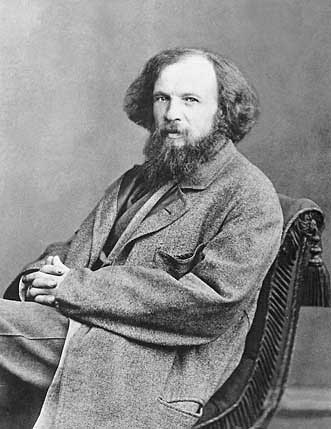 Article on Dmitri Mendeleev