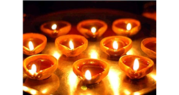 This Diwali, illuminate your home with flickering diyas!