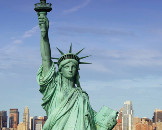 Why The Statue Of Liberty Is Colored Blue Green Chemistry Articles