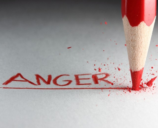 Vital role of Chemistry behind Anger