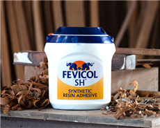 Fevicol, the high-performance range of adhesives from Pidilite.