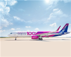 AkzoNobel coatings used in Wizz Air's 100th aircraft