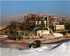 Israel Chemicals' Dead Sea facility.