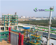The 125 TPD hydrogen peroxide chemical complex is located in Dahej, Gujarat, India.