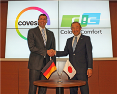 Kaoru Ino, representative director, president and CEO of DIC Corporation and Dr Markus Steilemann, CEO of Covestro agreed on another milestone in more than 18 years of strong partnership.