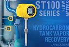Hydrocarbon tank vapor recovery systems rely on thermal mass flow meter