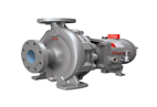 Iso Sealed Chemical Process Pumps for excellent hydraulic performance