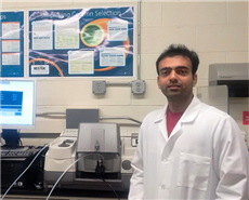 Shrish Patel, PhD Researcher at Orlov Materials Lab of Stony Brook University.