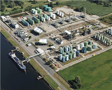 Shown here is the picture of Total's Oudalle facility near Le Havre, France. Oudalle plant is a specialty refinery where Total is producing sustainable aviation fuel. (File Photo)