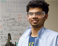 Ajay Pisat, Doctoral Candidate, Materials Science and Engineering, Carnegie Mellon University.