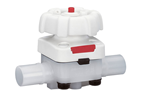 Ultra-pure diaphragm valve for demanding applications