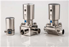 Pneumatic actuator for diaphragm valves in sterile applications