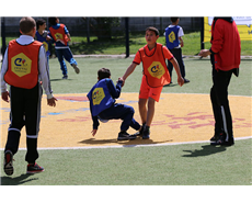 AkzoNobel, Cruyff offers sporting chance to disabled children in Brazil