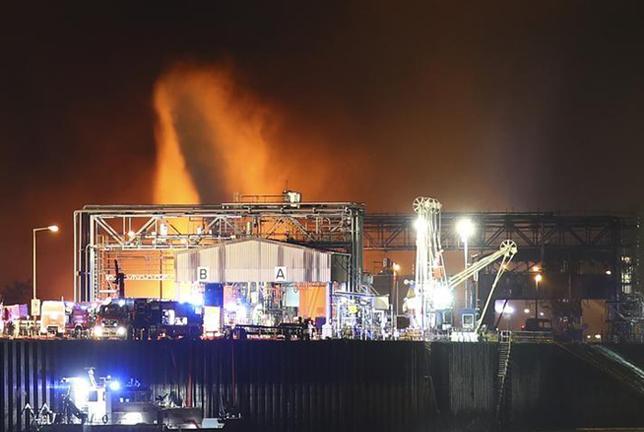 BASF Chemical Plant Explosion | Major explosion at BASF
