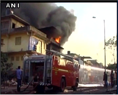 Fire Breaks Out in Chemical Factory at Navi Mumbai