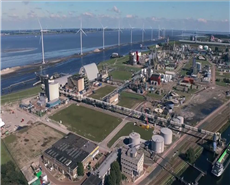 AkzoNobel bio-steam facility in Delfzijl, Netherlands