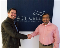 From left: Christian Schimper, managing director, Acticell Technology Solutions and Ganesh Srinivasan, executive director innovation, Resil Chemicals.