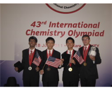 US students win medals from International Chemistry Olympiad