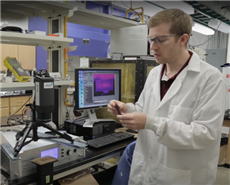 Brandon Sweeney, PhD candidate, materials science and engineering, Texas A&M University
