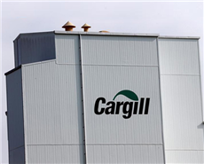 A Cargill logo is pictured on the Provimi Kliba and Protector animal nutrition factory in Lucens, Switzerland. © Reuters