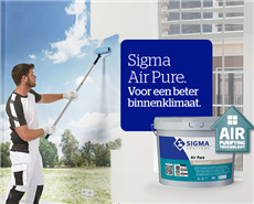 Sigma Air Pure removes up to 70 percent of the harmful formaldehyde from the indoor air.
