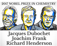 Nobel Prize for Chemistry 2017 awarded for imaging molecules of life