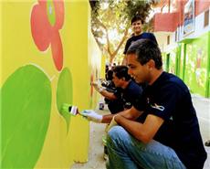 AkzoNobel, MasterPeace completes colouring of 100 walls