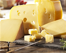 DSM launches new tasty, firm-textured Swiss cheese