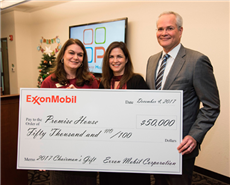 ExxonMobil grants $50,000 for Promise House's homeless youth assistance