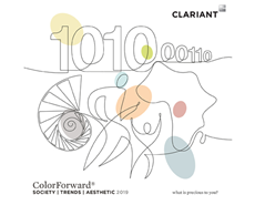 Clariant presents colours for 2019 in the newest edition of ColourForward