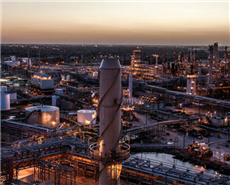 Petrochemical project at Total's Port Arthur in Texas, US.