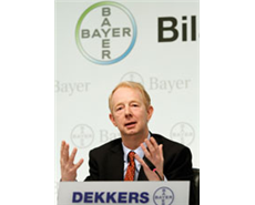 Bayer posts good results on high volumes and pricing