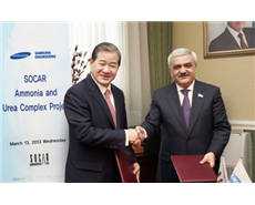 Samsung Engineering and SOCAR sign $650 mn urea plant contract