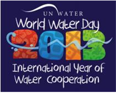World water day 2013 - focusing on water cooperation