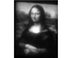 Mona Lisa Picture Using Nanotechnology