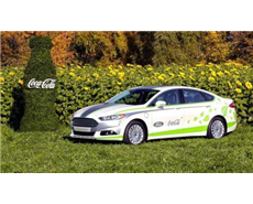 ford,coca-cola partnership building car interiors using PET