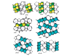 Zeolites net new carbon allotropes