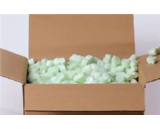 Packing peanuts can power lithium-ion batteries