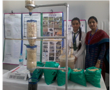 13-year-old Indian girl wins Google award for purifying water with corn cobs
