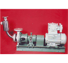 Chemical Process Pump With Priming Vessel