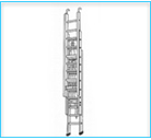 Alum Double Extension Ladder