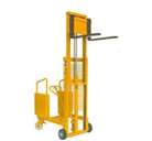 Hydraulic Stacker With Counter Weight Type