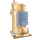 Three Pass Oil/Gas Fired Thermic Fluid Heater