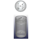 58 Liter Stainless Steel Container