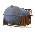 Horizontal Chemical Storage Tanks